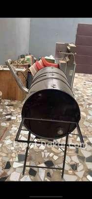 Fourneau barbecue inutilisé image 3