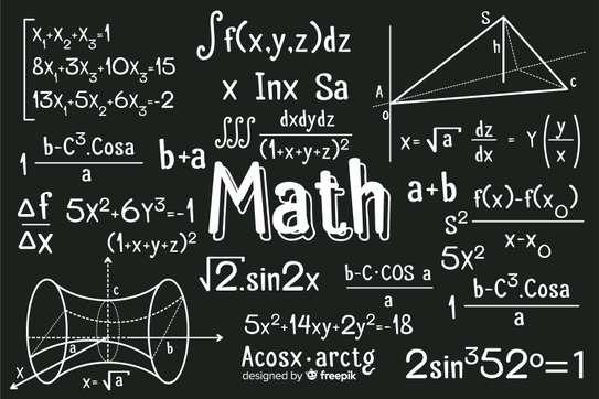 Mathematique ,physique chimie et anglais image 1