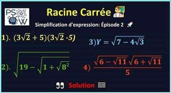 Cours à domicile : mathématiques, physique et chimie image 1