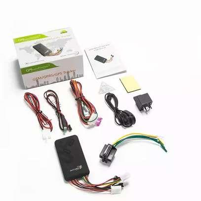 GPS de voiture de traqueur de véhicule gps trackers GPS/GSM/GPRS Véhicule GPS tracker de Voiture TK100/GT06 image 2