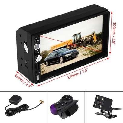Autoradio  tactile 7 pouces HD - bluetooth usb sd image 2