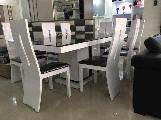 Table à manger + 6 chaises image 3