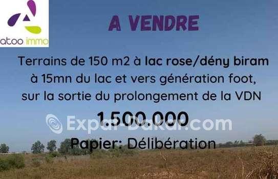 Terrain à vendre à Lac Rose image 1