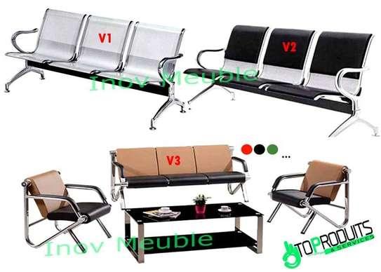 Chaise et fauteuils de bureau image 3