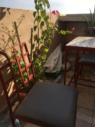 Table en fer forgé image 4