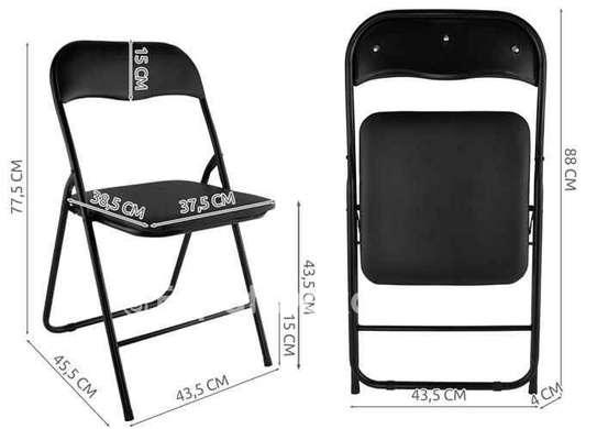 Chaise pliablede bureau / réception ou restaurant image 1