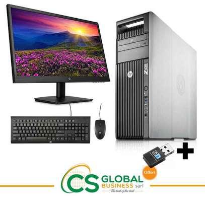 COMPLET HP Z620   DOUBLE PROCESSEURS image 1