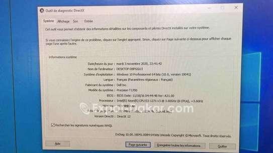 "Dell Gtx1050Ti 16go Xeon 24"" image 3"