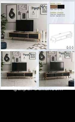 TABLE BASS TV NOIR ET BLANC image 2
