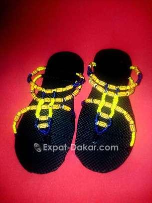Sandales Perlés image 5