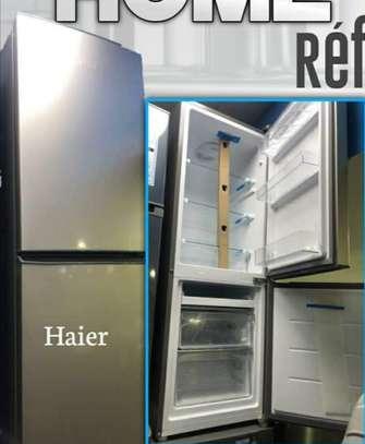Réfrigérateur combiné haier 3tiroirs hrd 175l image 1