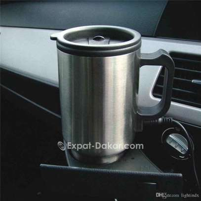 Bouilloire électrique de voiture tasse a café image 6