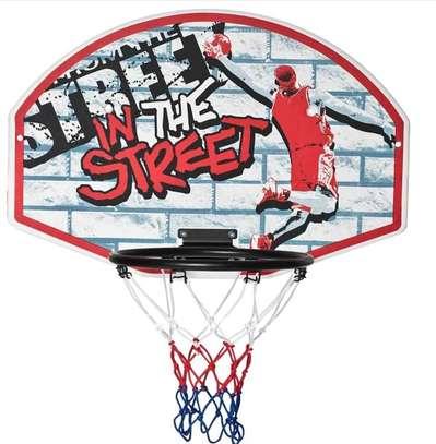 Panneau basketball mural image 1