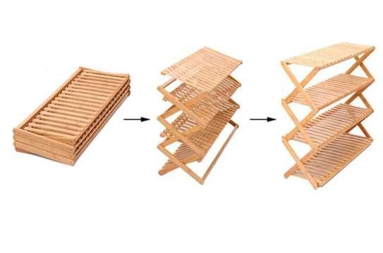 Étagère multifonctions en bambou image 5
