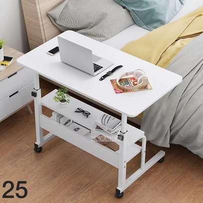 Table ordinateur en bois 3 niveau image 2