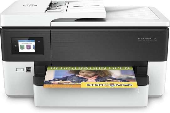 HP OfficeJet Pro 7720 Imprimante Multifonction jet d'encre couleur 4-en-1 (USB 2.0 / Ethernet / Wi-Fi image 4