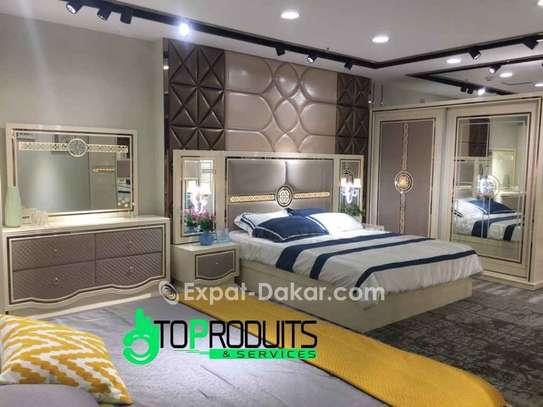 Chambre à coucher+Matelas offert image 1