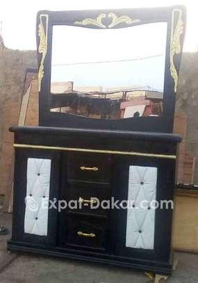 Lite 3 place armoire 4 battant coiffeuse image 2