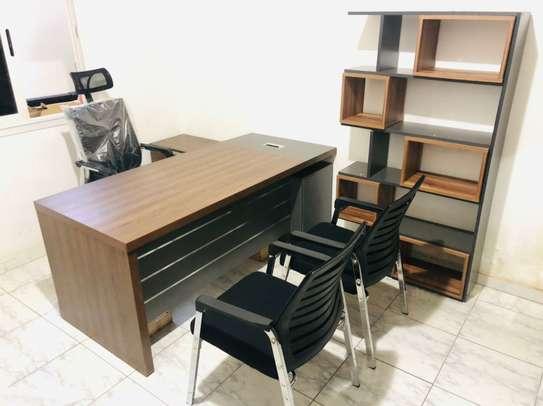 Table bureau direction avec Retour image 7