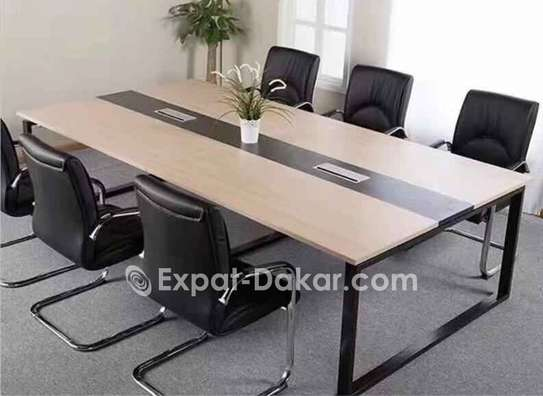 Table de réunion de 6,8,10,12 image 2