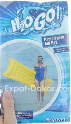 Flotteur gonflable pour piscine air mat image 1