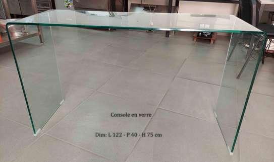 Console en verre image 1