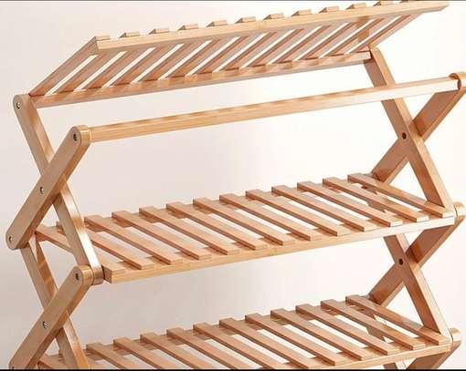 Étagère multifonctions en bambou image 8