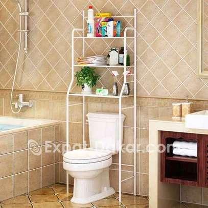 Support de rangement de toilette de salle de bain image 2