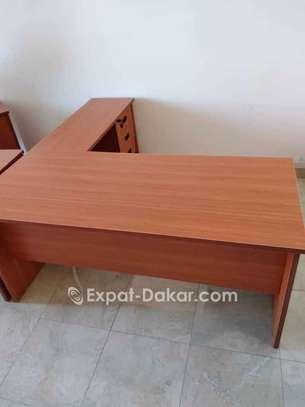 Table de bureau avec retour image 3