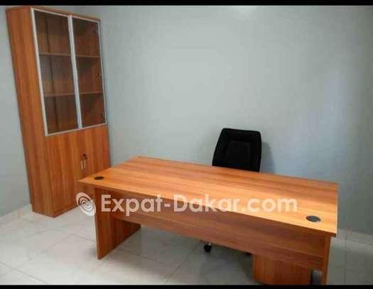 Table de bureau avec retour image 4