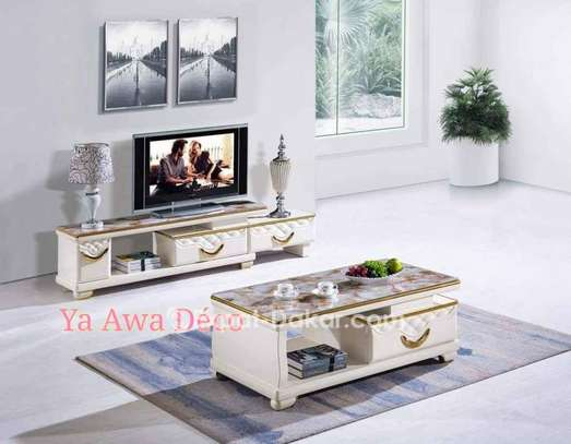 Table basse et table tv image 1