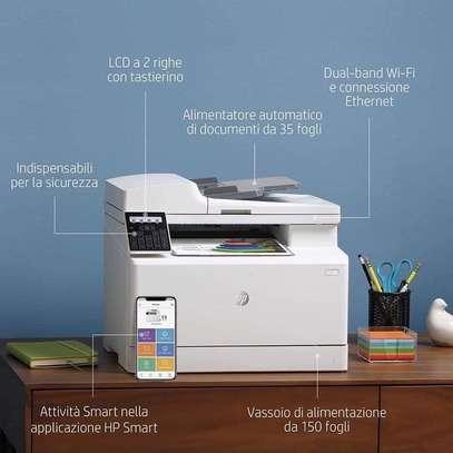 Imprimante HP laserjet pro MFP 183 fw laser multifonction image 1