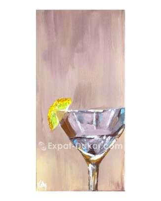 Toile «Le Martini» image 2
