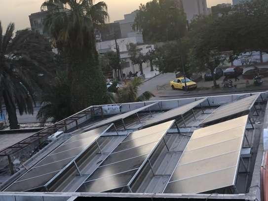 Panneaux solaires installations supports démontables en galva image 1