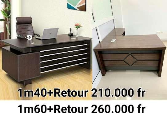 Table bureau direction avec Retour image 1