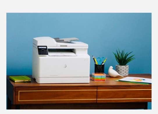 Imprimante HP laserjet pro MFP 183 fw laser multifonction image 4