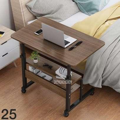 Table ordinateur en bois 3 niveau image 1