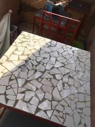 Table en fer forgé image 5