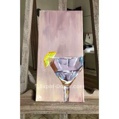 Toile «Le Martini» image 1