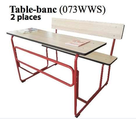 Table bancs pour école image 2