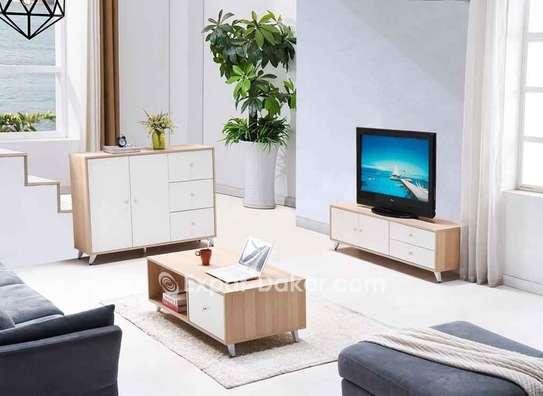 Ensemble table TV, basse et buffet image 1