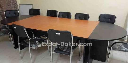 Table de réunion 6,8,10,12 et 15 places image 3