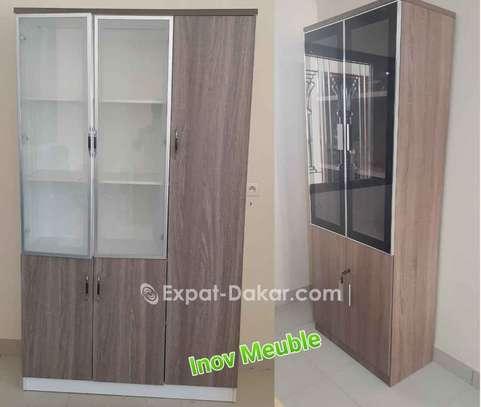 Rangement bureau 2 et 3 portes image 1