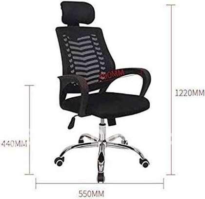 Chaise de bureau pivotante - confortable image 2