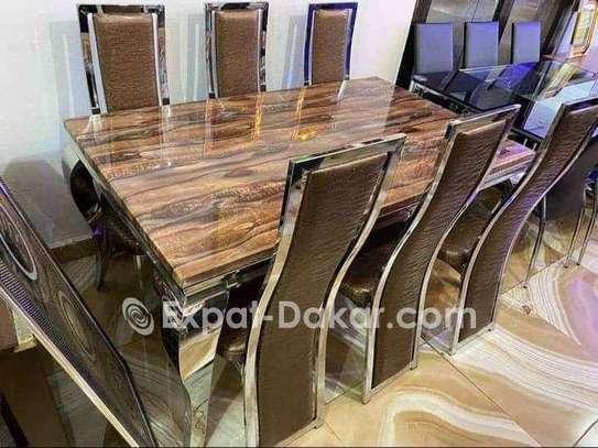Table à manger marbre vip image 2