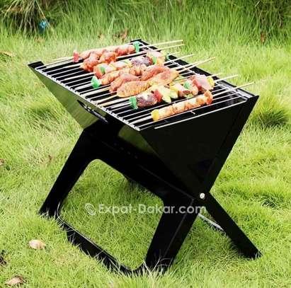 Barbecue pliante image 1