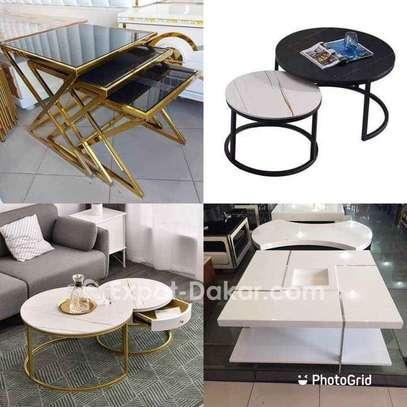 Table salon dorée image 3