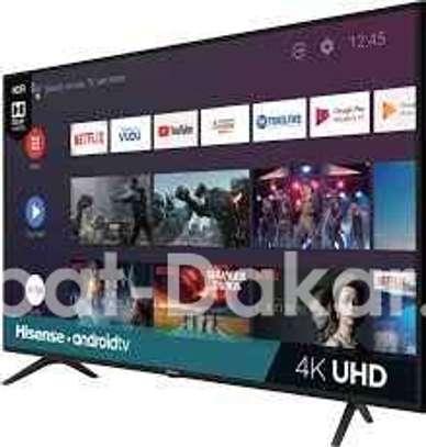 "TV Hisense - Ecran SMART HISENSE 65"" ULTRA HD 4K'' - 4K image 1"