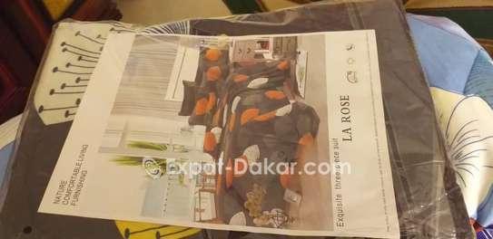 Draps de lit 100 coton original image 1