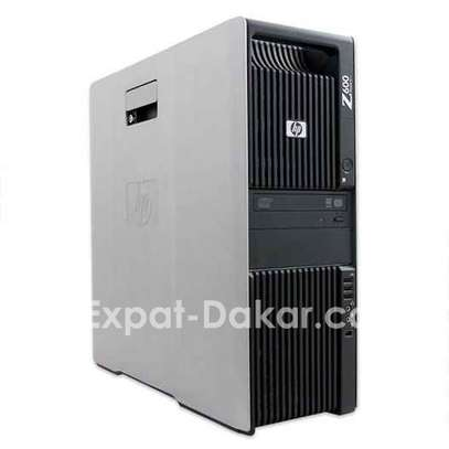 Puissant PC workstation hp Z600 dual cpu image 1